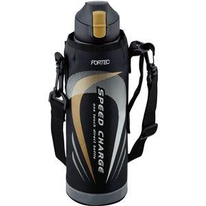 和平フレイズ フォルテック・スピード ワンタッチ栓ダイレクトボトル 1.0L BK(ブラック) FSR-7372