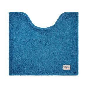 銀イオン加工トイレマット/トイレ用品【ターコイズブルー】55×60cm洗える抗菌・防臭・消臭効果『カラーモードプレミアム』