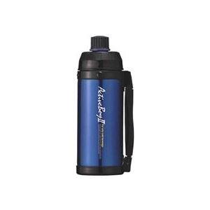 魔法瓶構造 スポーツボトル/水筒 【保冷専用 ブルー】 1L 直飲みタイプ ハンドル付き 『アクティブボーイ2』