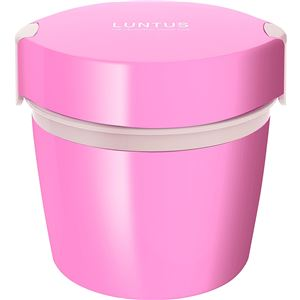アスベル カフェ丼ランチ ステンレス保温ランチボックス 500ml ピンク (ステンレス保温ランチボックス ピンク)