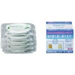 オイルポット交換用フィルター/オイルフィルター 【5個入り】 天然素材 活性炭 日本製