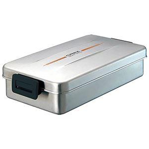 アスベル クレズSS 弁当箱 ランチボックス バッグ付 800ml シルバー SS-800L