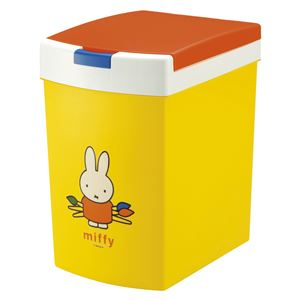 おむつポット/フタ付きゴミ箱【15L】ミッフィー蓋:簡単オープン消臭剤ケース付き『おむつポイポイ』
