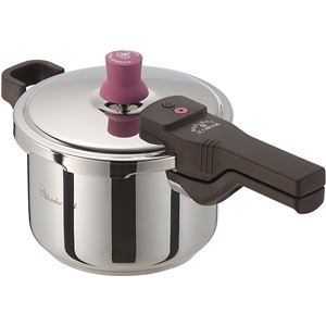 【ワンダーシェフ】 圧力鍋/ あなたとわたしの圧力魔法鍋 【3L】 2~3人用 IH対応 レシピ付き