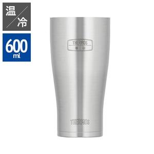 【THERMOS サーモス】 真空断熱タンブラー/カップ 【600ml】 ステンレス製 ヘアライン仕上げ 食洗機可