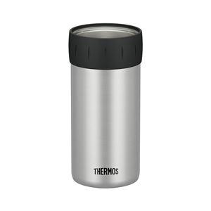 【THERMOSサーモス】保冷缶ホルダー【350ml缶用ライムグリーン】真空断熱ステンレス魔法びん構造