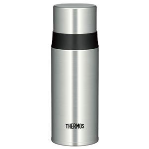 【THERMOS サーモス】 水筒 ステンレスボトル 【ステンレスブラック】 350ml 軽量 スリム