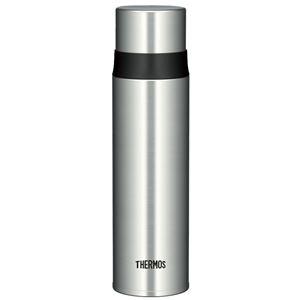 【THERMOS サーモス】 水筒 ステンレスボトル 【ステンレスブラック】 500ml 軽量 スリム