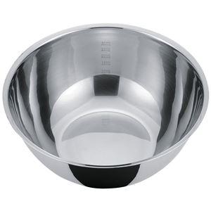 貝印 NewCookDay 深型ボール 27cm DF-1418(調理器具 目盛り付き メモリ)