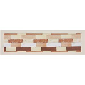 キッチンマット/台所マット 【ヴィンテージウッド 44×180cm】 裏面:滑り止め加工 『キッチンマッチョ』