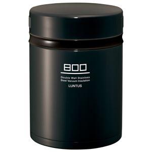 ステンレス ランチジャー/保温弁当箱 【グレー】 800ml 電子レンジ可 食洗機可