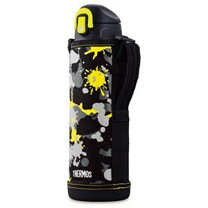 【サーモス THERMOS】 2WAY ステンレスボトル/水筒 【ブラックペイント】 1.0L 真空断熱 保温 保冷 〔スポーツ オフィス〕