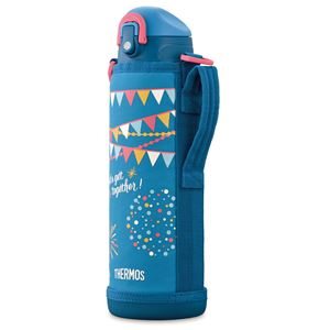 【サーモス THERMOS】 2WAY ステンレスボトル/水筒 【ブルーフラッグ】 1.0L 真空断熱 保温 保冷 〔スポーツ オフィス〕
