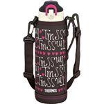 【サーモス THERMOS】 2WAY ステンレスボトル/水筒 【チョコハート】 1.0L 真空断熱 保温 保冷 〔スポーツ オフィス〕