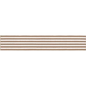 オカトー インテリアマット ベージュ 45×252cm (キッチンマット)