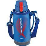 和平フレイズ フォルテック・スピード ワンタッチ栓 ダイレクトボトル ブルー 0.6L RH-1423 水筒