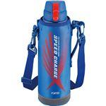 和平フレイズ フォルテック・スピード ワンタッチ栓 ダイレクトボトル ブルー 1.0L RH-1426水筒