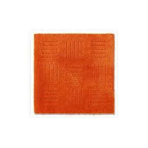 ピタプラス ブリック キッチンマット オレンジ 60×60cm (インテリアマット)