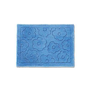 バスマット 乾度良好 サニー 吸水 抗菌 防臭 ブルー 約36×55cm