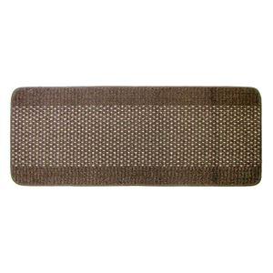 優踏生 洗いやすいキッチンマット 45×120cm ブラウン