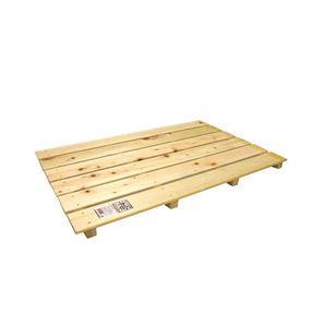 桧 すのこ (大) 4本足 85×56×3.7cm ( 日本製 木 押入すのこ )
