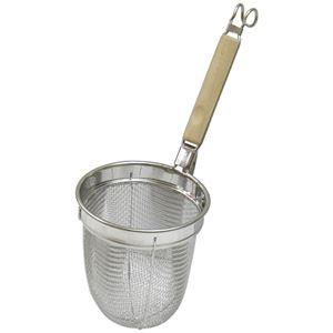 パール金属 ミドルプロ 木柄うどんテボ ( 湯切り )