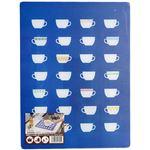 伸晃 強化ガラス製 キッチントッププレート 4030 カップ ( 鍋敷き )