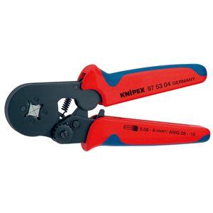 KNIPEX(クニペックス)9753-04 ワイヤーエンドスリーブ圧着ペンチ (SB)