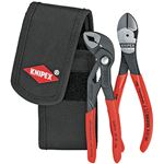 KNIPEX(クニペックス)002072V02 ミニコブラ + ニッパーセット