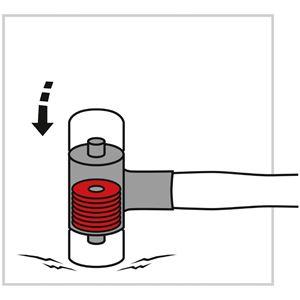 PB SWISS TOOLS 305-4 無反動コンビネーションハンマー(グラスファイバー柄)