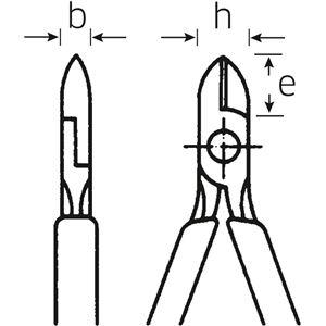 STAHLWILLE(スタビレー) 6600 6 160 斜ニッパー (66006160)