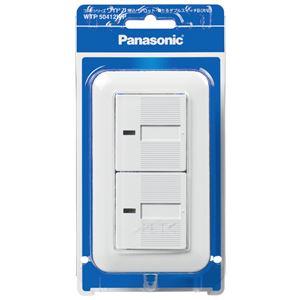 Panasonic(パナソニック) WTP50412WP コスモワイド埋込パイロット・ほたるダブル