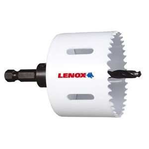 LENOX(レノックス) T1491275MMAHS バイメタル軸付ホールソー 75MM