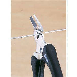 ANEX NO.285 ステンレス製ラバーグリップニッパーダブル刃