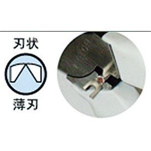VICTOR(ビクター) 371-HG-200 ハイパワー偏心電工ニッパー(薄刃)
