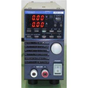 テクシオ・テクノロジー PS20-20A/直流安定化電源 【中古品 保証期間付き】 電源関連機器