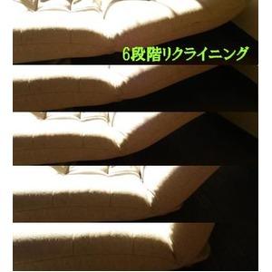 ハイバックタイプローソファー 【2人掛け ベージュ】 6段階リクライニング機能付き 木脚 『プリム2P』