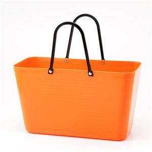 HINZA スウェーデン製 エコバッグ Orange(オレンジ) フリーサイズ