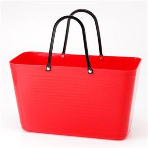HINZA スウェーデン製 エコバッグ Red(赤) フリーサイズ