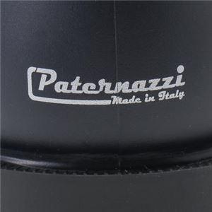 PATERNAZZI イタリア製ショートレインブーツ BLACK (ブラック) 36サイズ 約23cm
