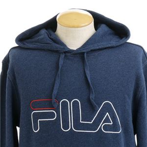 FILA BROOKLYN HOODY Tシャツ 084 black サイズ:M