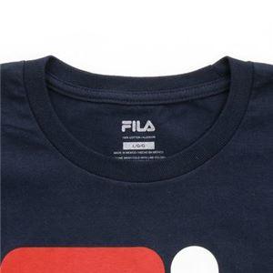 FILA FI OVER LA TEE Tシャツ 412 navy サイズ:S