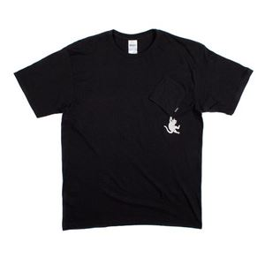 RIP N DIP Hang In There Tee Shirt Tシャツ Black サイズ:S