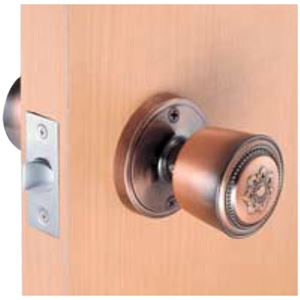 室内用ドアノブ【鍵なしタイプ】箱入仕様空錠『カラー』川口技研