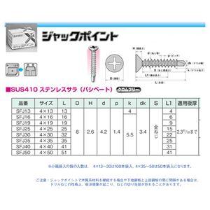 ヤマヒロ ステンレスジャックポイント SFJ16 袋入 [1000本入]
