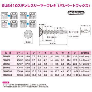 ヤマヒロ ステンレスジャックポイント SBW32 [700本入]