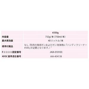 発泡ウレタンスプレー 【ピンク 732g】 ハ...の紹介画像3
