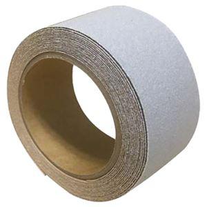 屋外用滑り止めテープ【グレー】100mm×5m防滑仕様『すべらんテープ』〔ステップ階段スロープ〕
