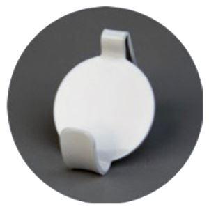 (まとめ)石膏ボード壁専用フック Petaフック はく (ホワイト) [1パック(2個入)]【×10セット】