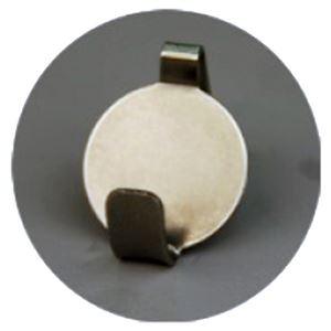 (まとめ)石膏ボード壁専用フック Petaフック ぎん (ステン) [1パック(2個入)]【×10セット】
